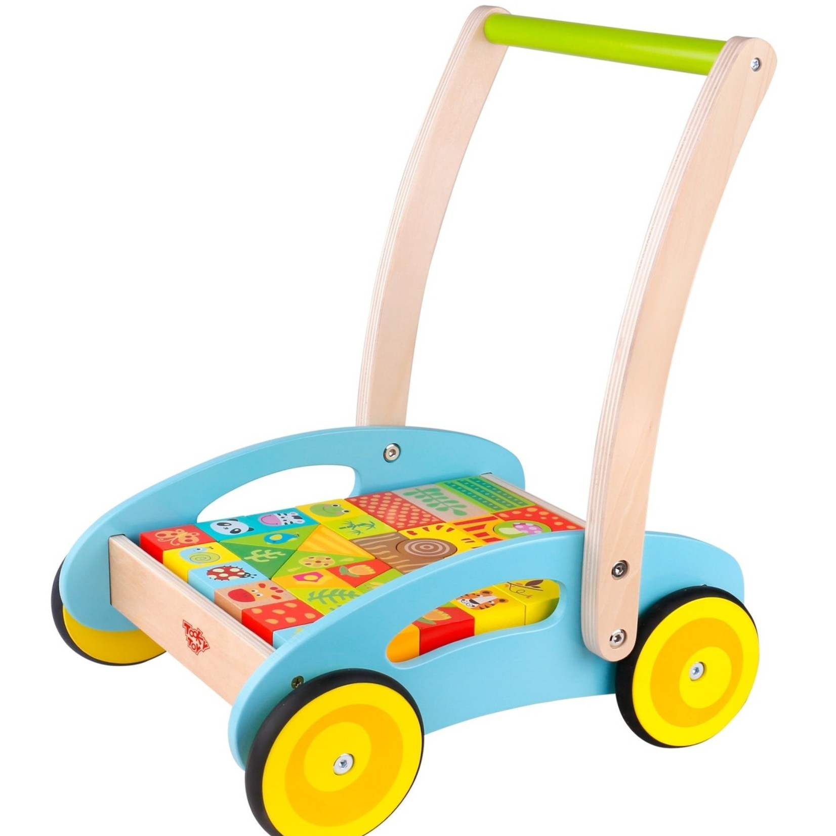 Tooky Toy Baby Walker - Forest