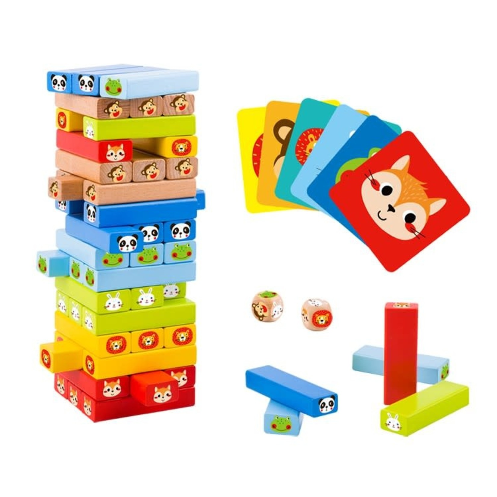 Tooky Toy Stacking Game - Animals