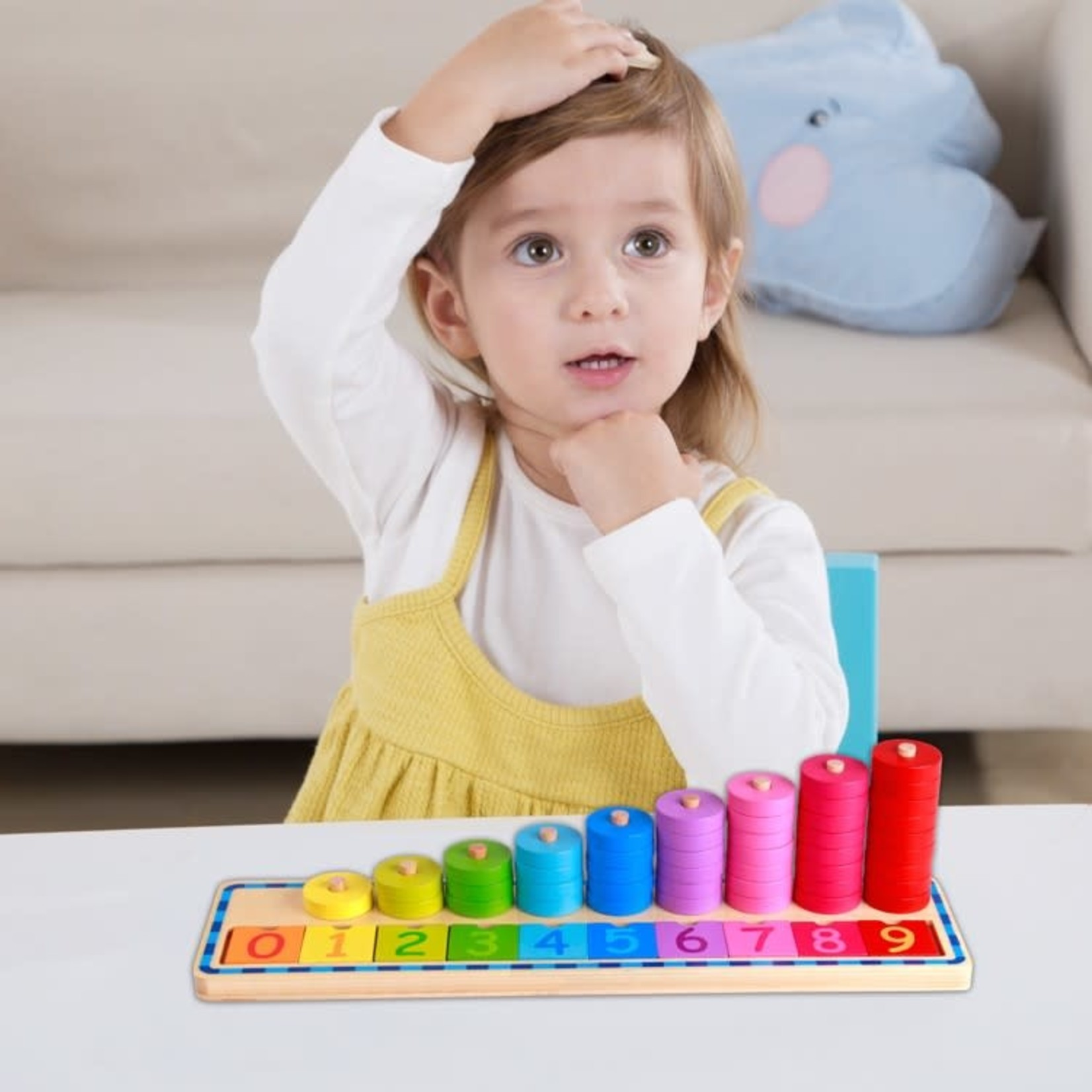 Tooky Toy Counting Stacker