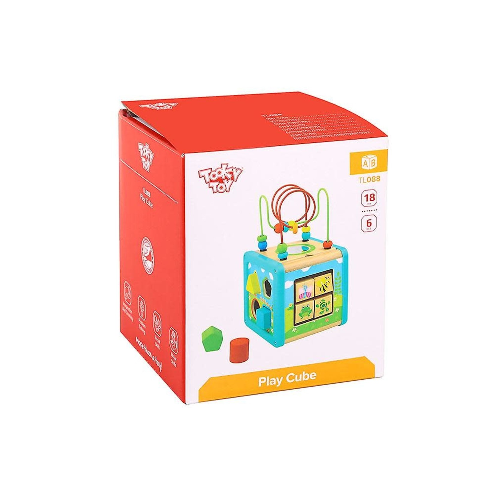 Tooky Toy Play Cube