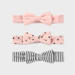 Mayoral Set of 3 diadems Pale Blush