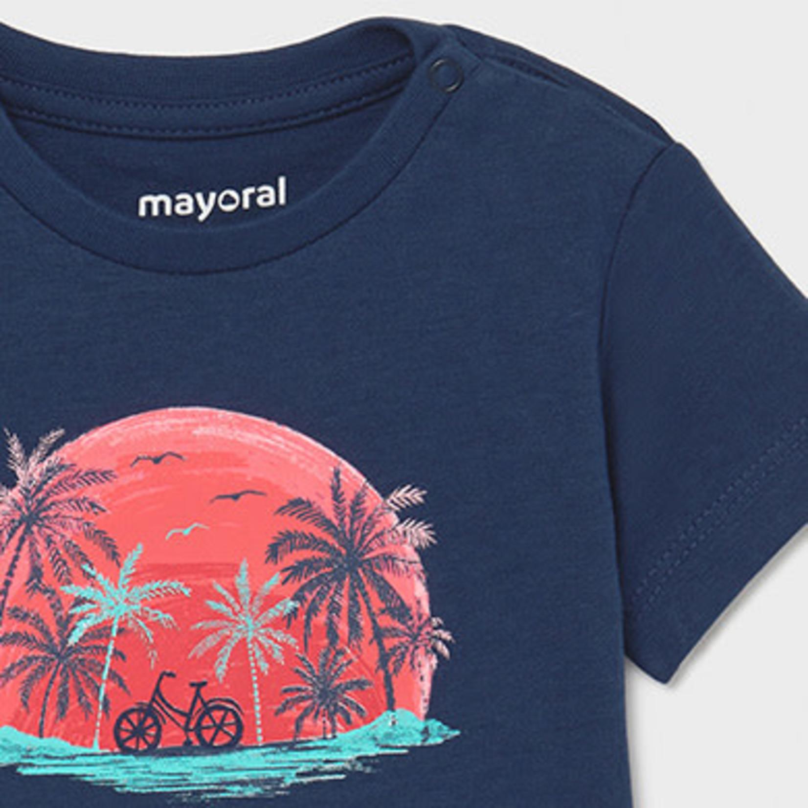 Mayoral 2pc set t-shirts       Aqua