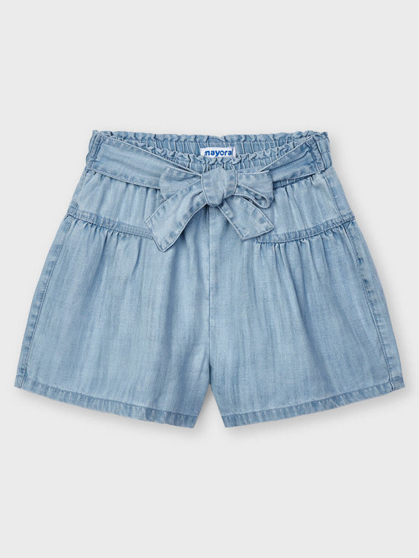 Mayoral denim short pant Bleached
