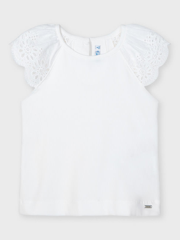 Mayoral sleeveless t-shirt  White