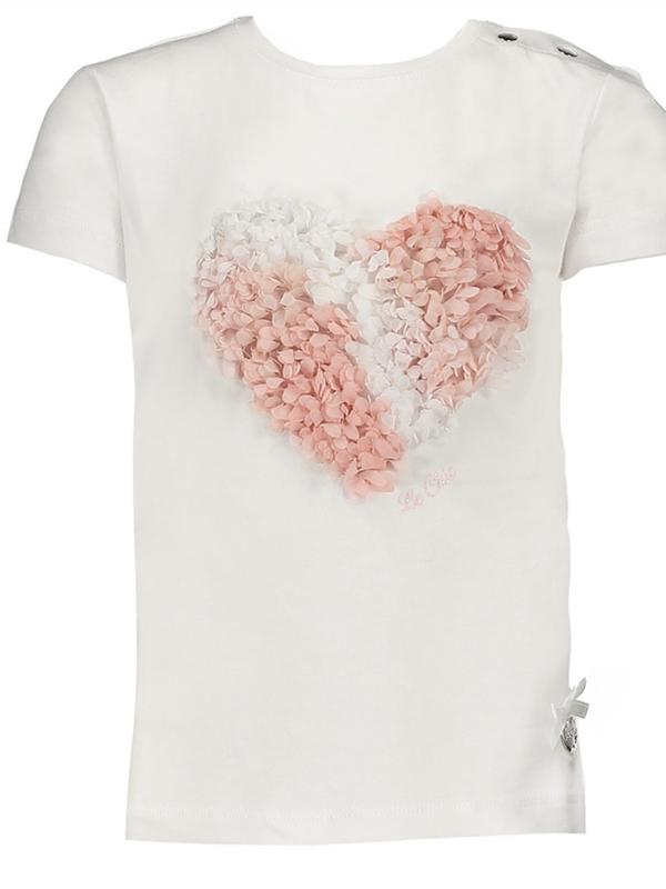T-shirt cotton 3D heart Le Chic
