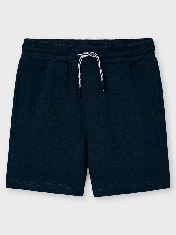 Mayoral Basic fleece shorts    Navy