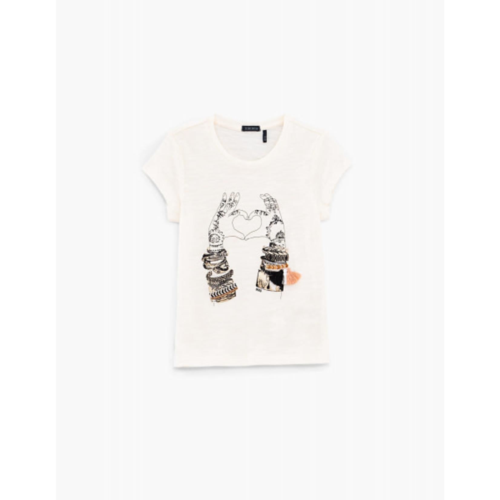 IKKS T-shirt van Ikks XS10002