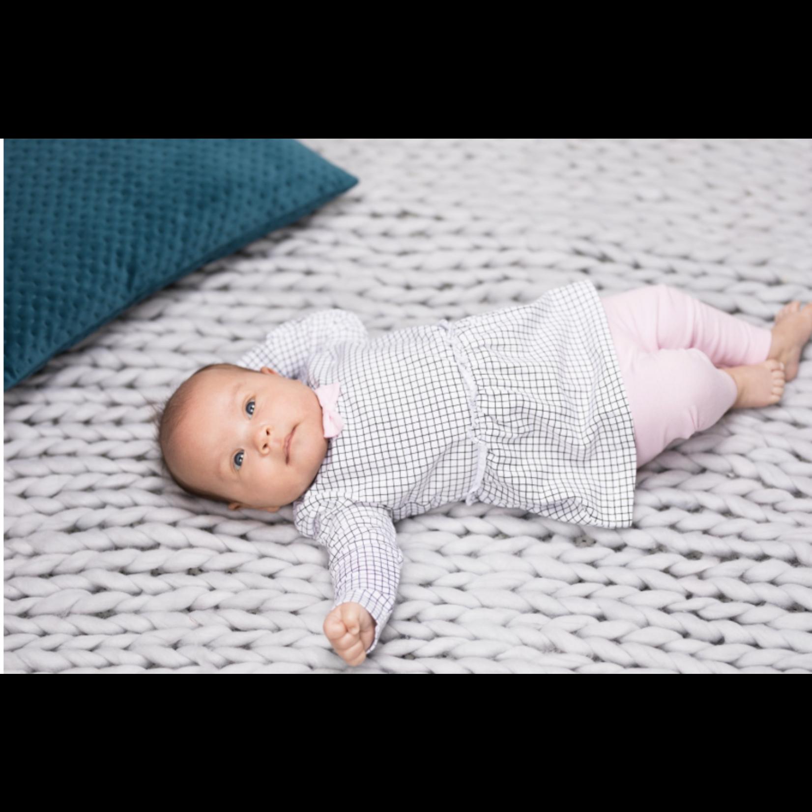 Little Bampidano Little Bampidano newborn girls legging Fleur SLOTH