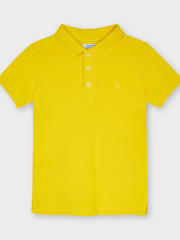 Mayoral Basic s/s polo      Yellow