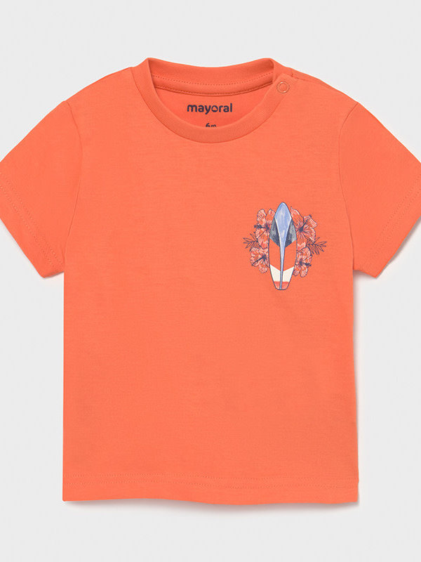 Mayoral S/s t-shirt       Apricot