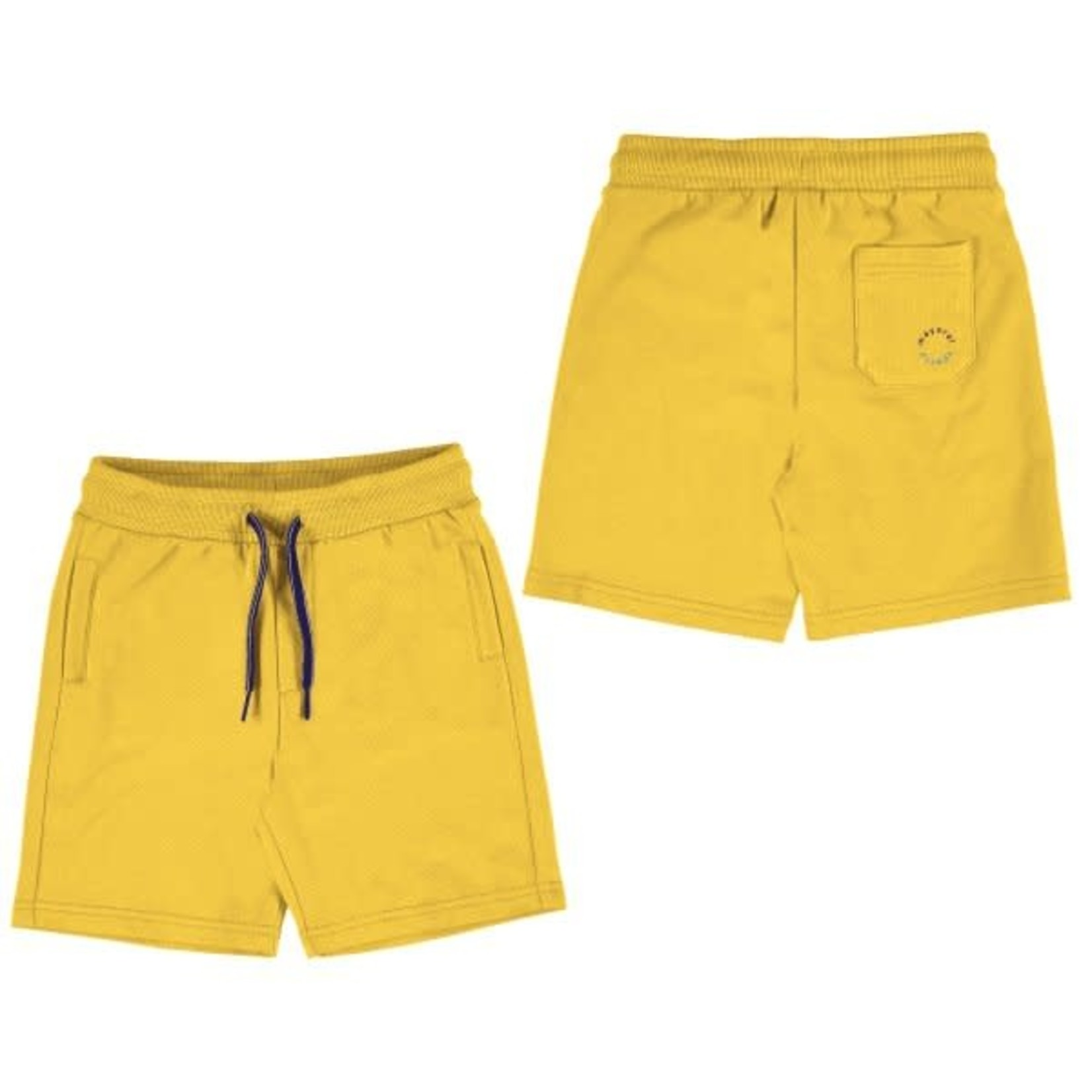 Mayoral Basic fleece shorts   Yellow