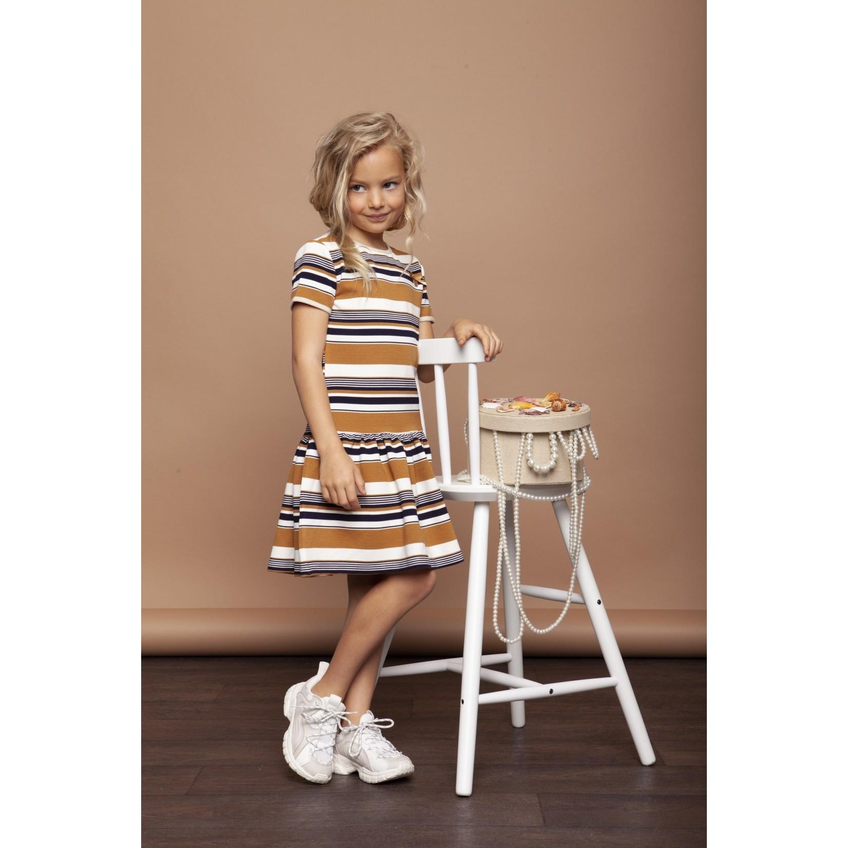 Le Chic Le Chic dress relief stripe