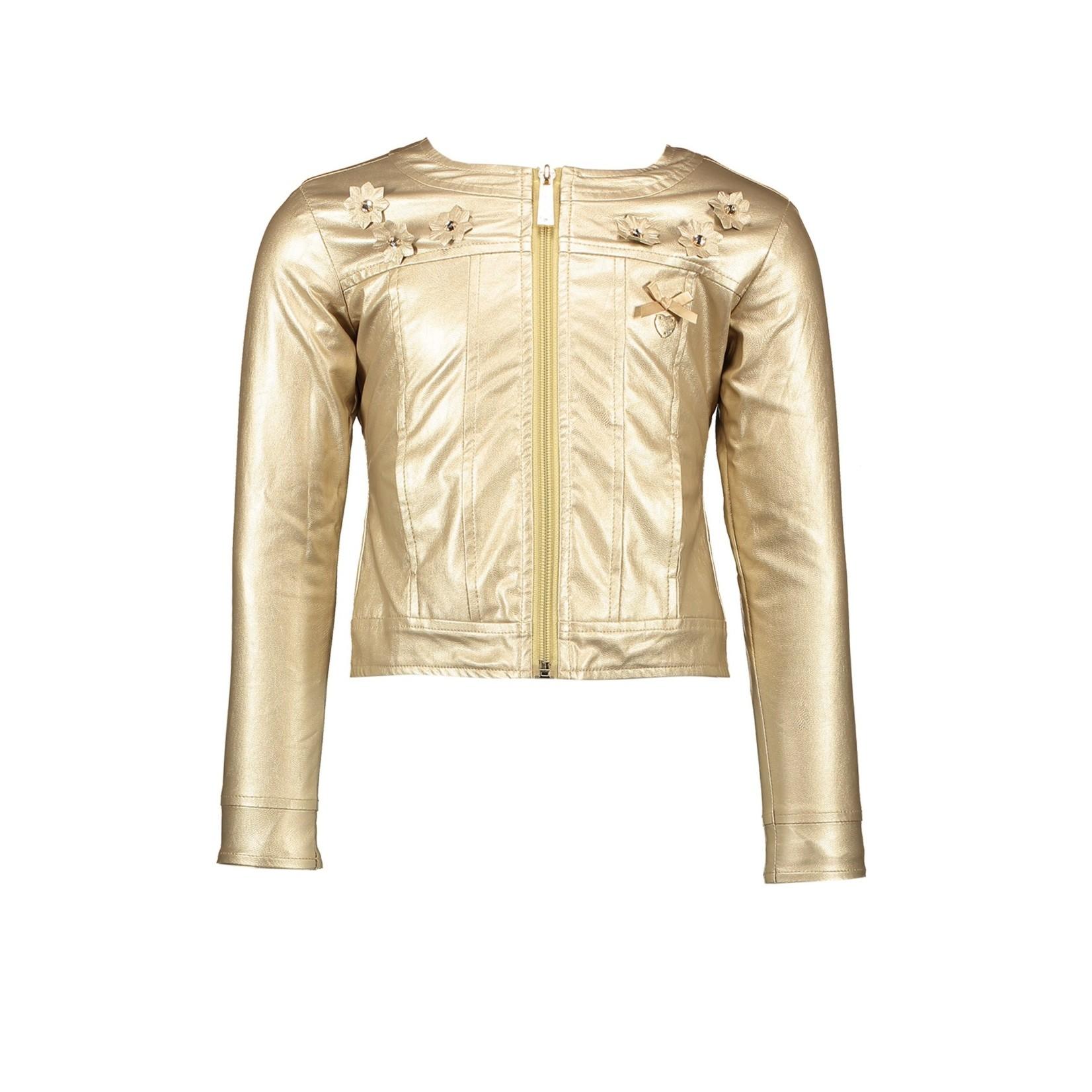 Le Chic jacket precious gold metal