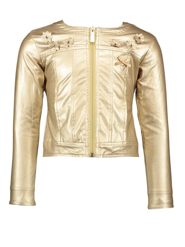 Le Chic jacket precious gold metal