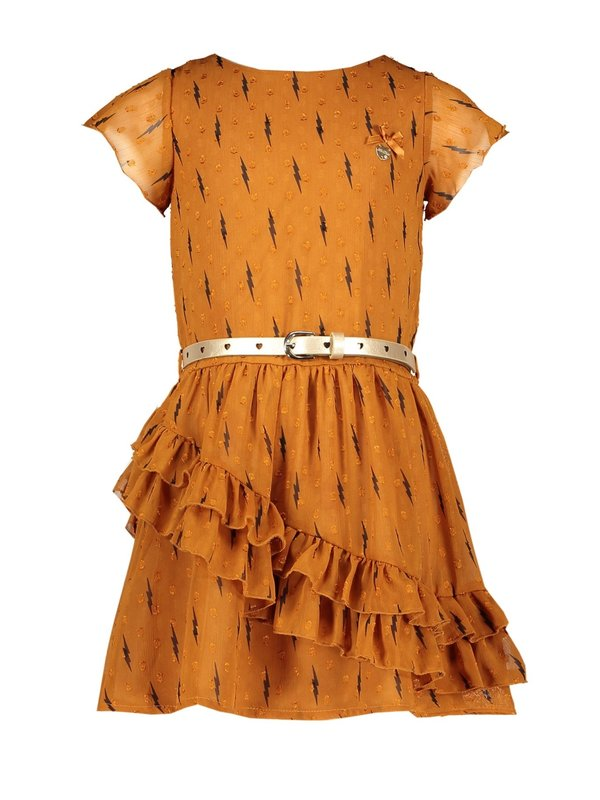 Le Chic dress ruffles lightning & dots