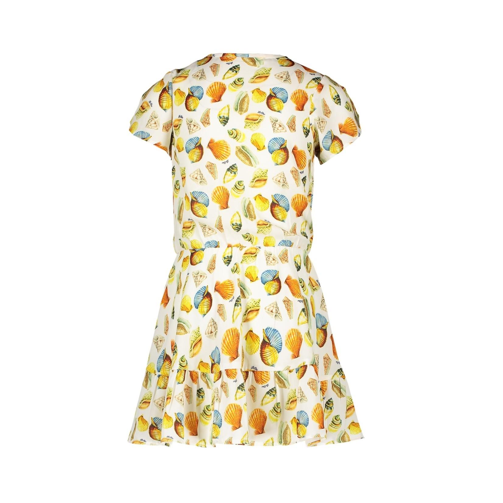 Le Chic dress watercolour seashells