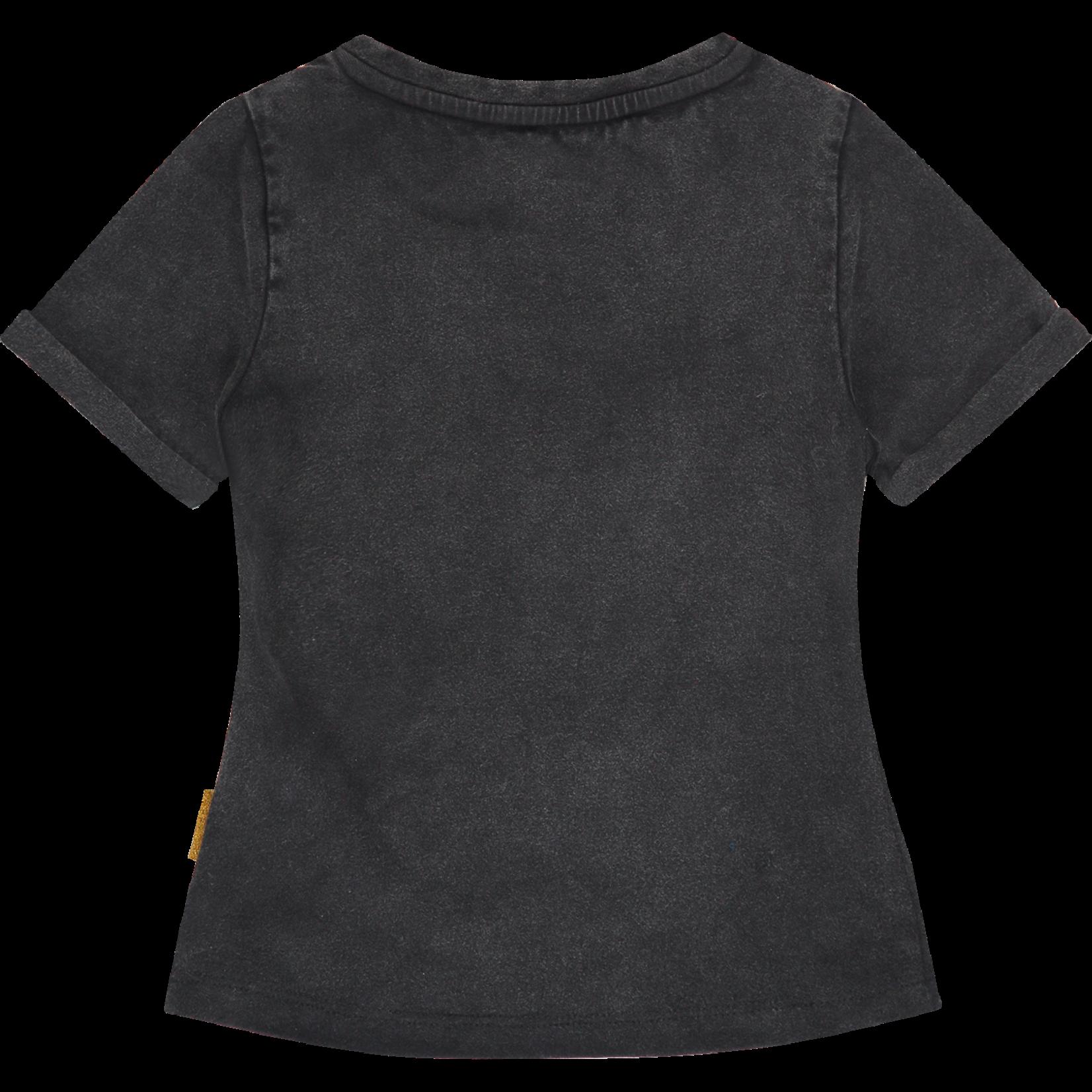 Vingino T-shirt Hille Deep Black