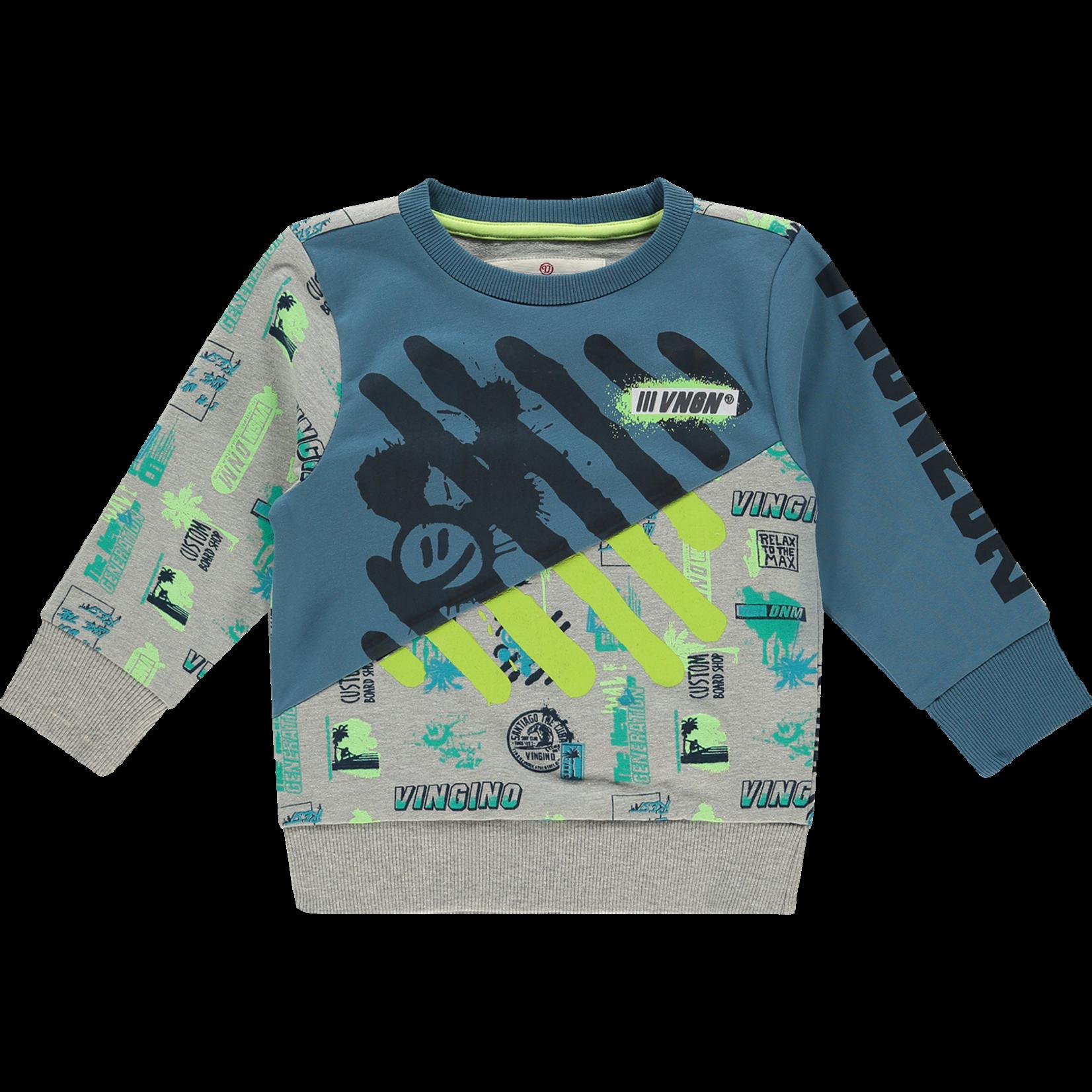 Vingino Sweater Natan Denim Blue