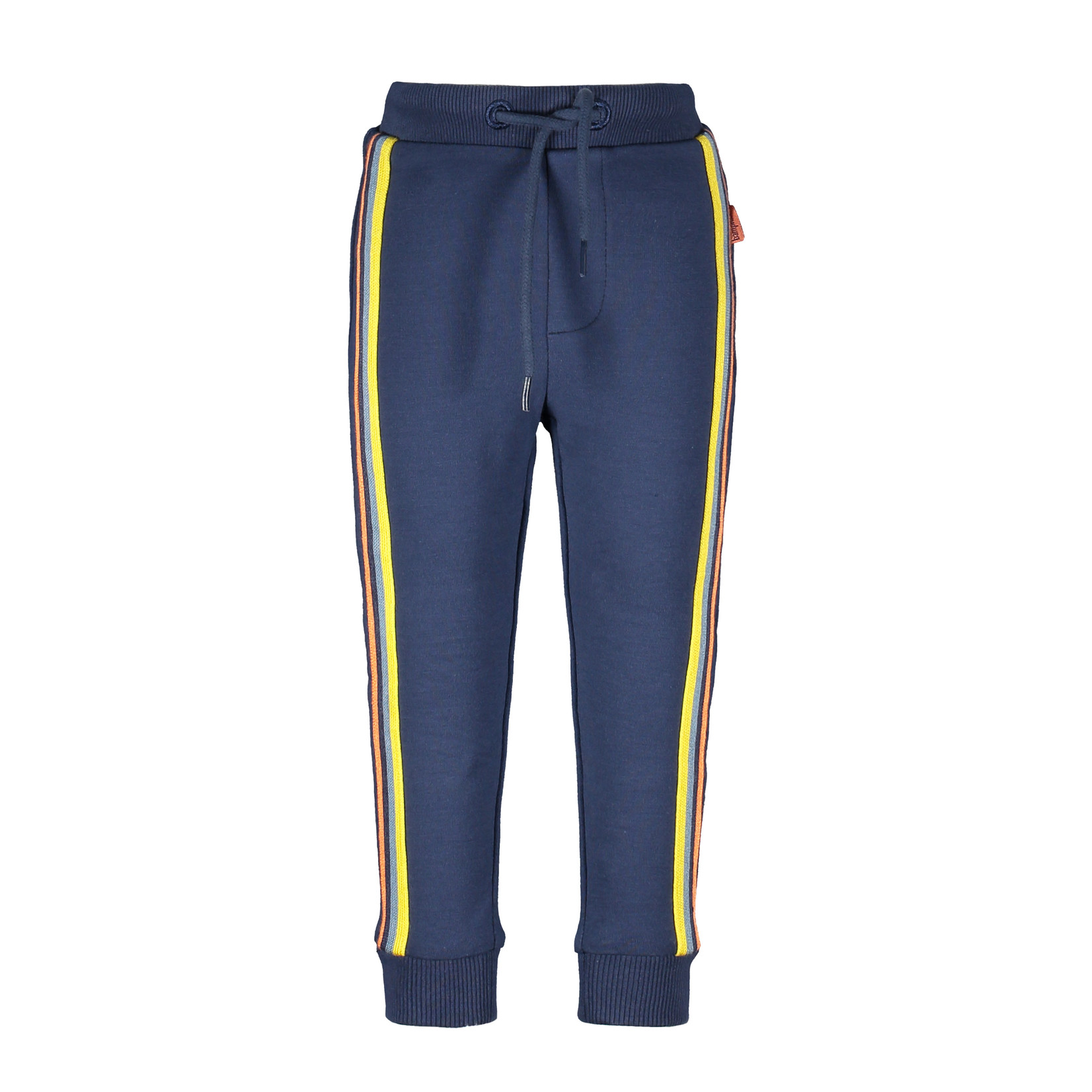 Little Bampidano Boys sweat trousers Didier with striped tapes + waistcord PLAY