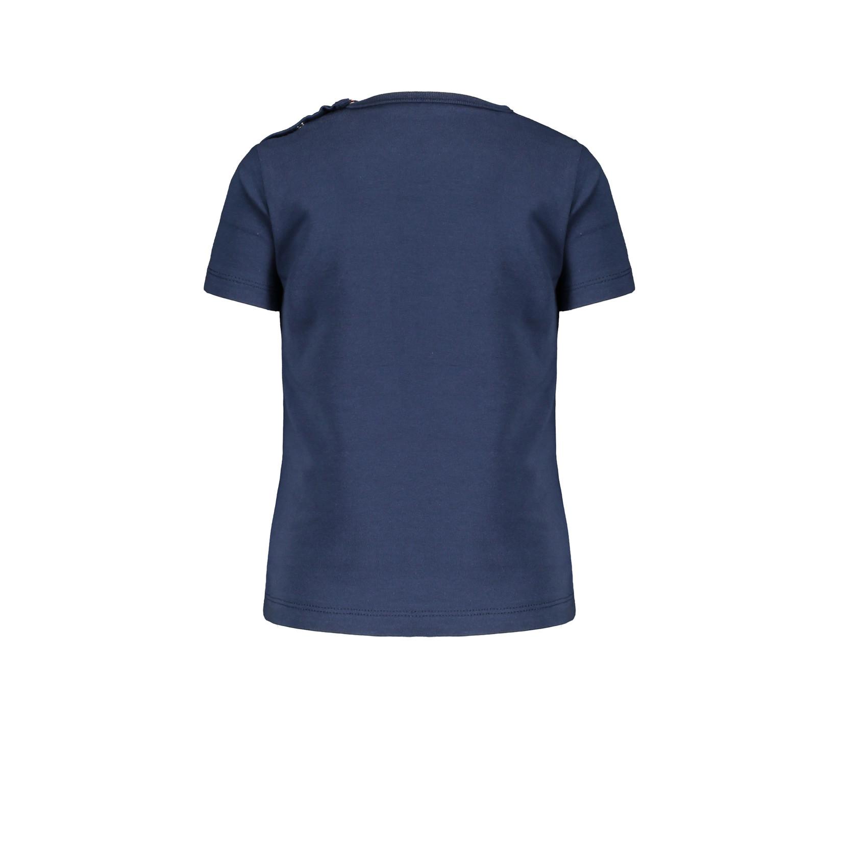Bampidano Little Bampidano Boys short sleeve T-shirt Dex plain with print PLAY