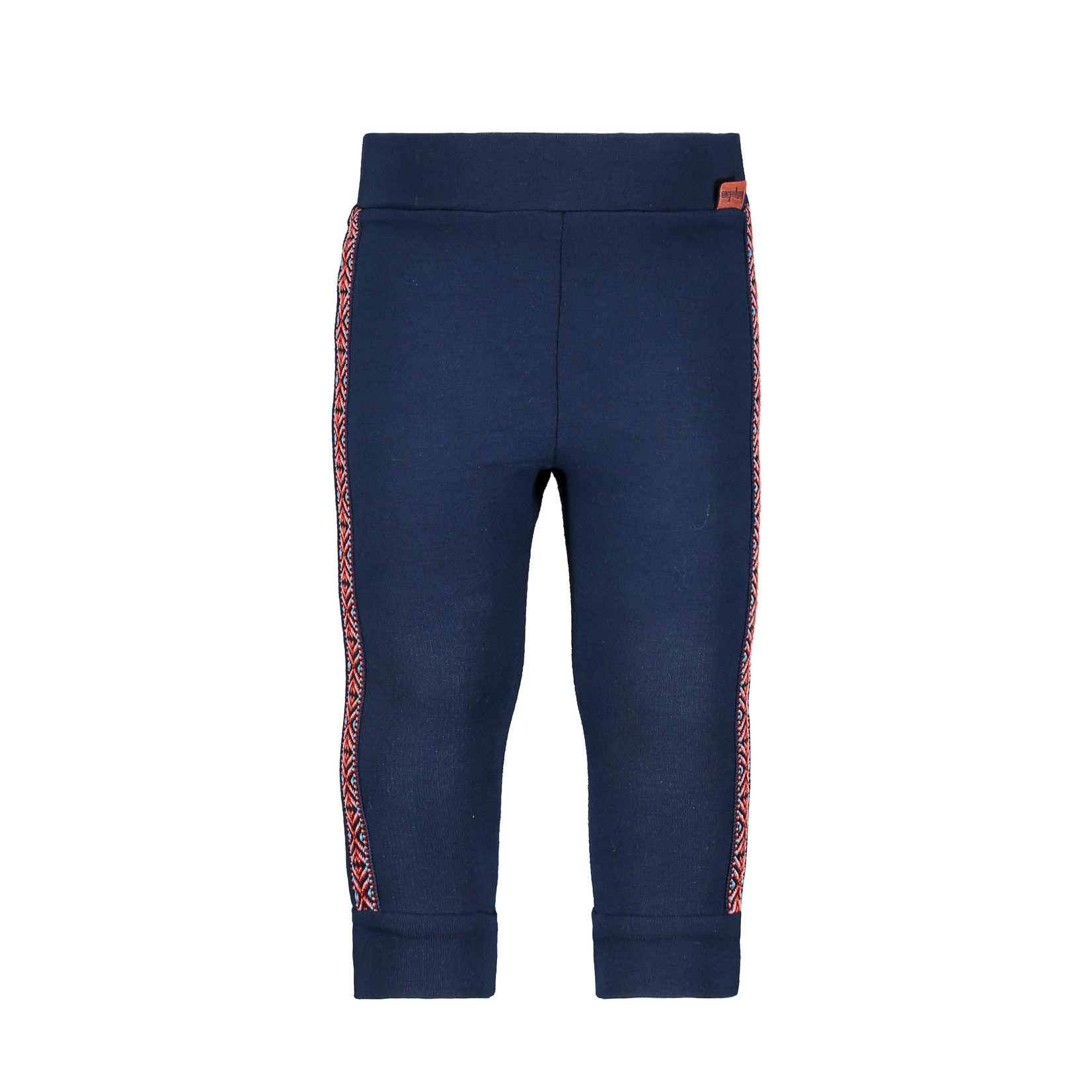 Little Bampidano Girls sweat trousers Dorien with tapes FLOWER