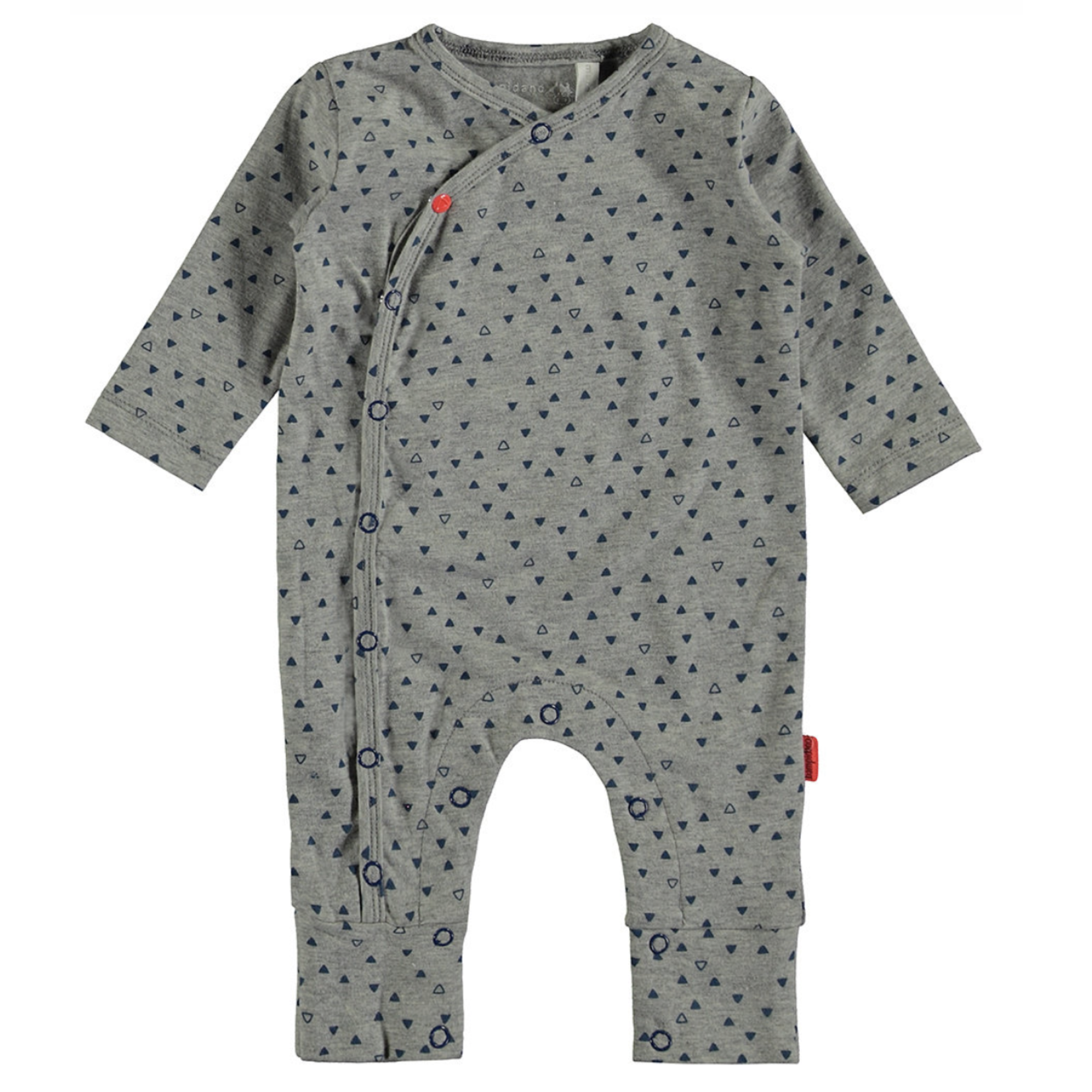 Bampidano Little Bampidano newborn overall Ezra AO with turnback feet TRIANGLE