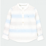 Bóboli Linen shirt long sleeves striped for boy