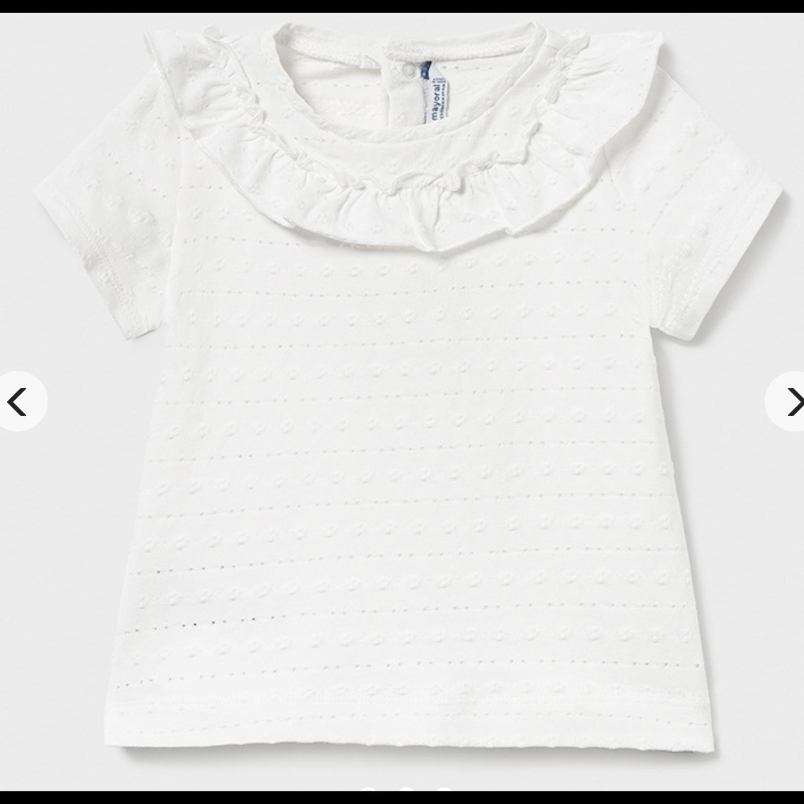 Mayoral L/s t-shirt naturel