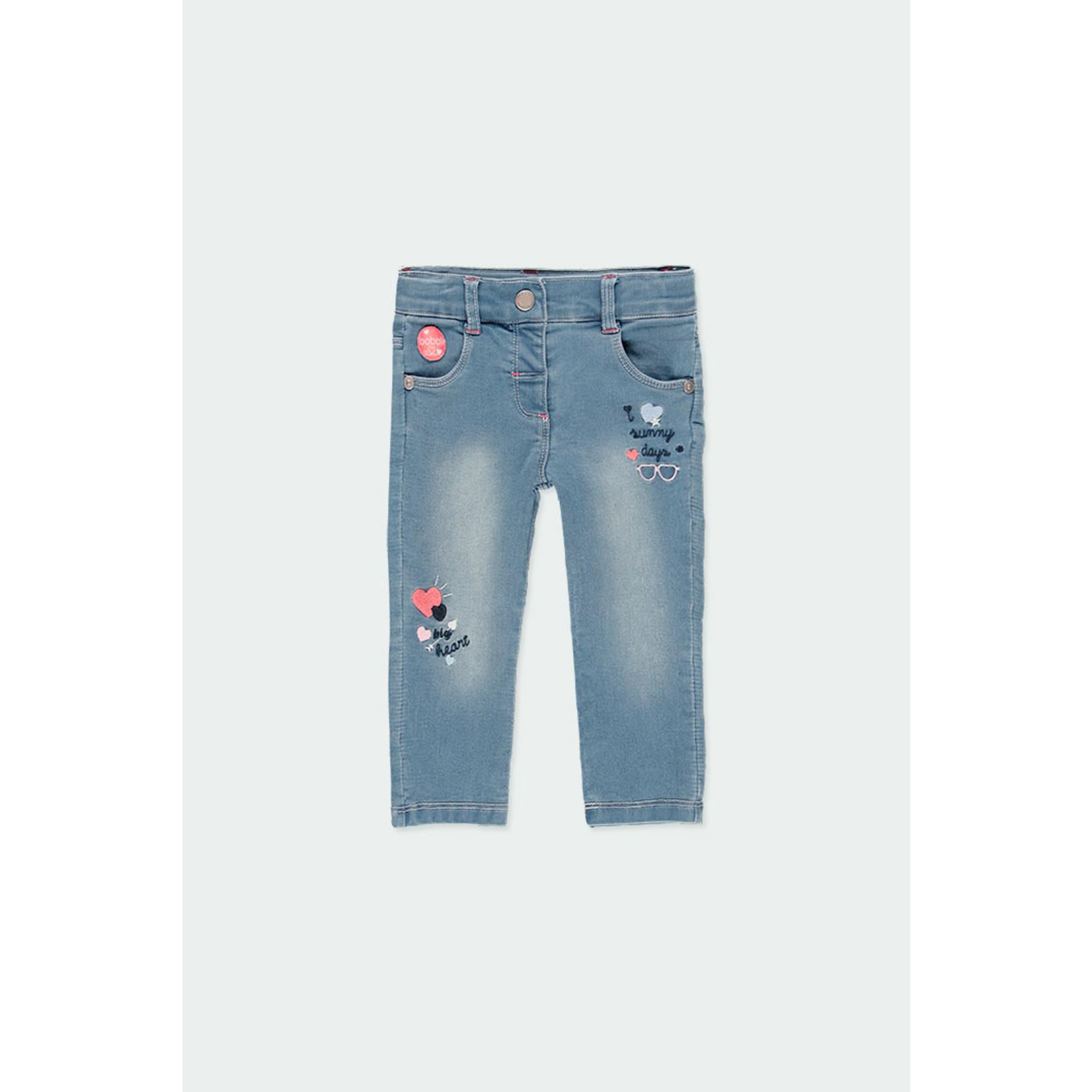 Bóboli Fleece denim trousers for  girl