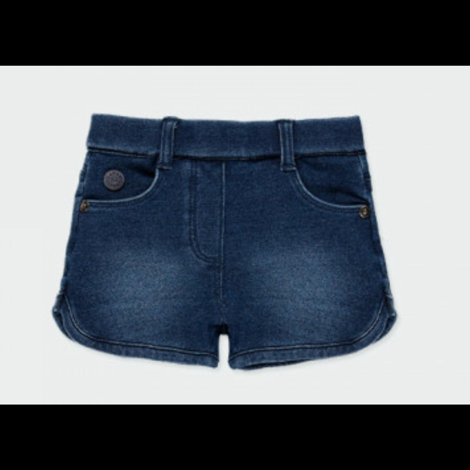 Bóboli Fleece denim shorts for  girl