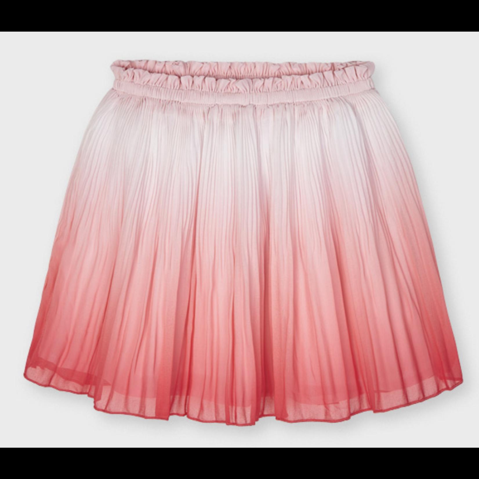 Mayoral tie dye skirt Flamingo