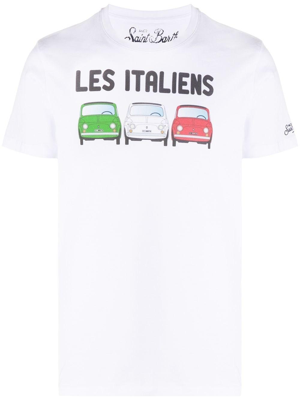 Italian Fiat 500 T-Shirt-1