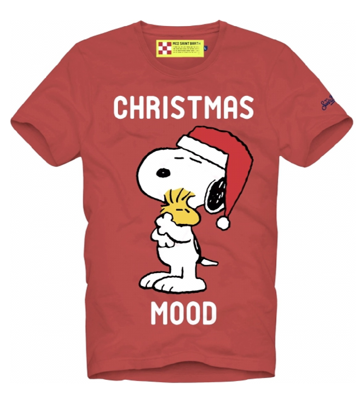 Snoopy Christmas Mood T-Shirt-1