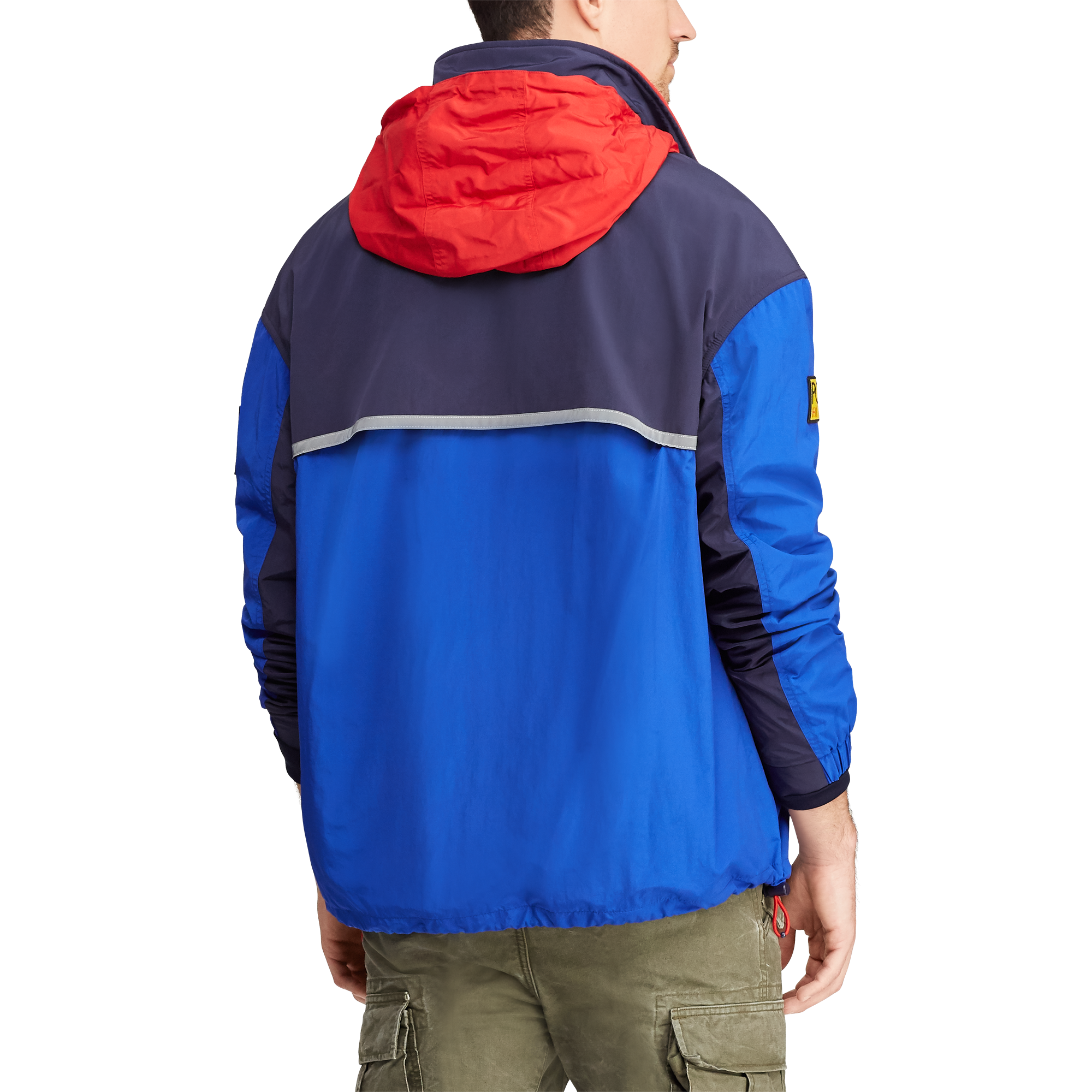 Hi Tech Colour Blocked Pullover-3