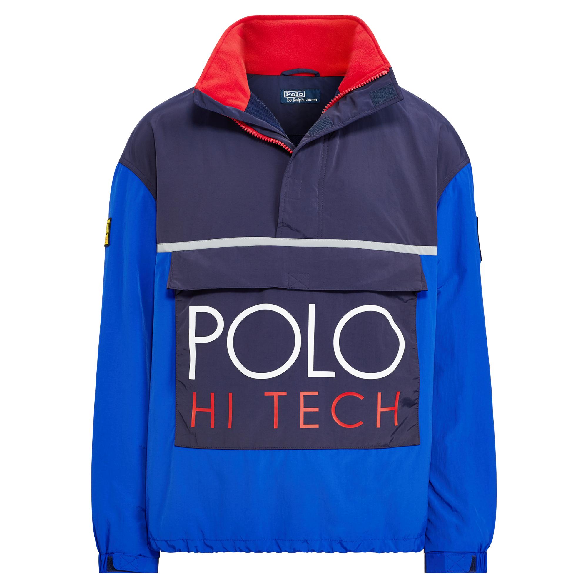 Hi Tech Colour Blocked Pullover-1