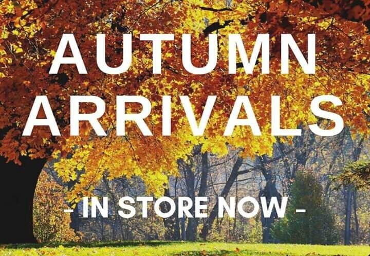Autumn arrivals