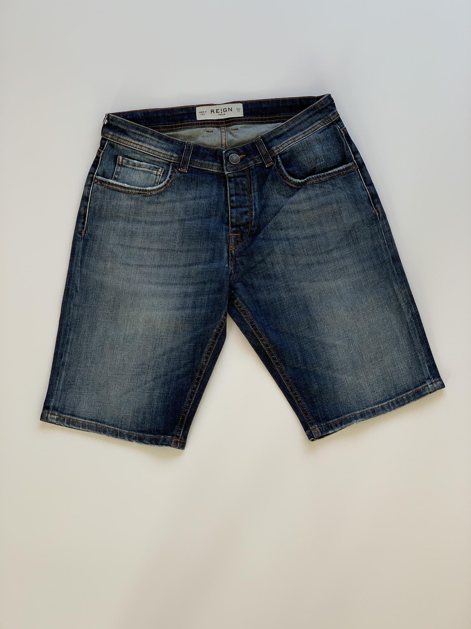 Ethan Malaga Jeans Short-1