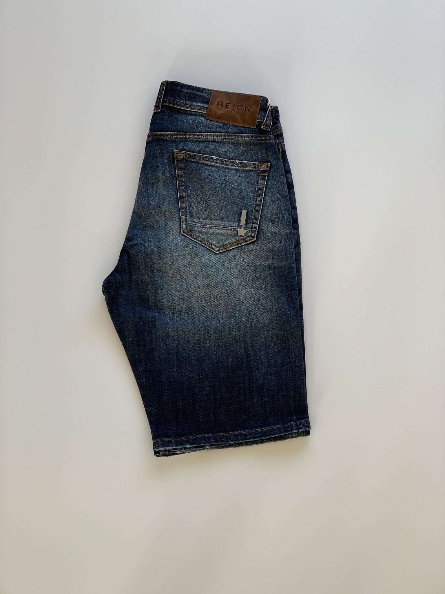 Ethan Malaga Jeans Short-2