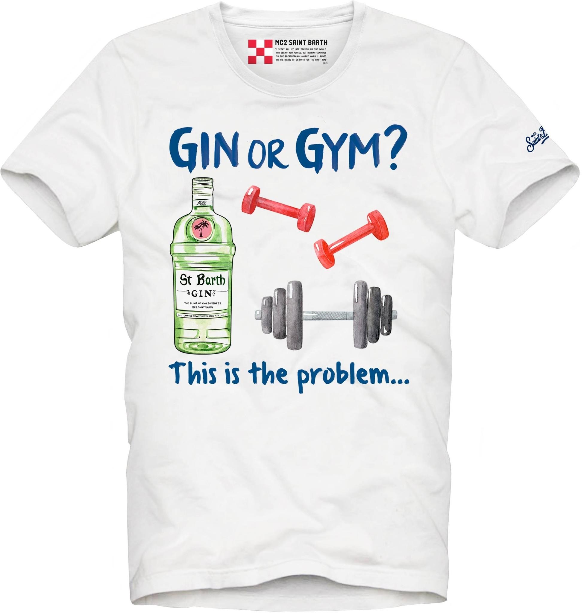 Gin or Gym T-Shirt-1