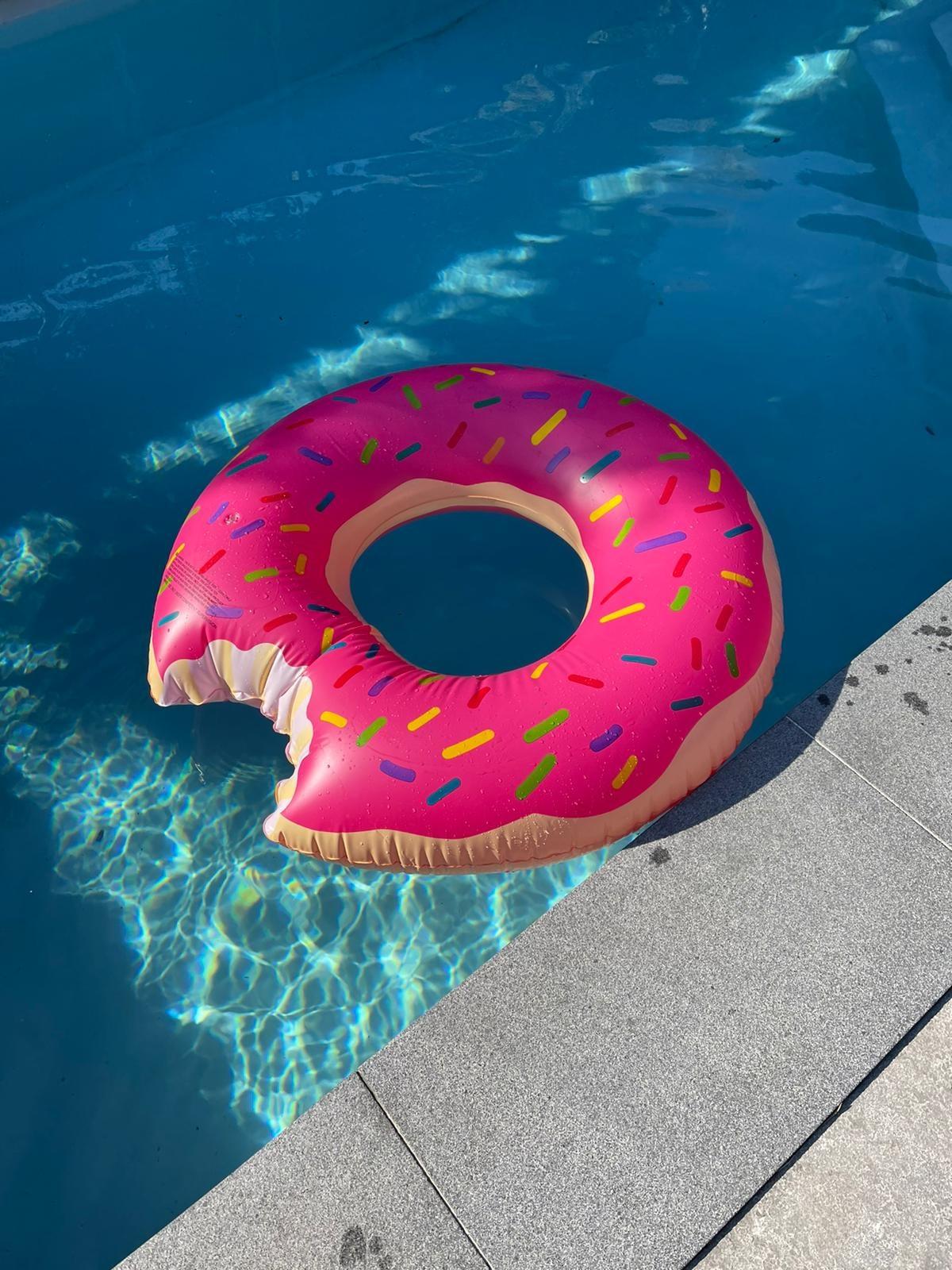 Beach Luchtbed Donut-1