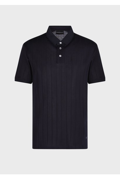 Jacquard Jersey Polo