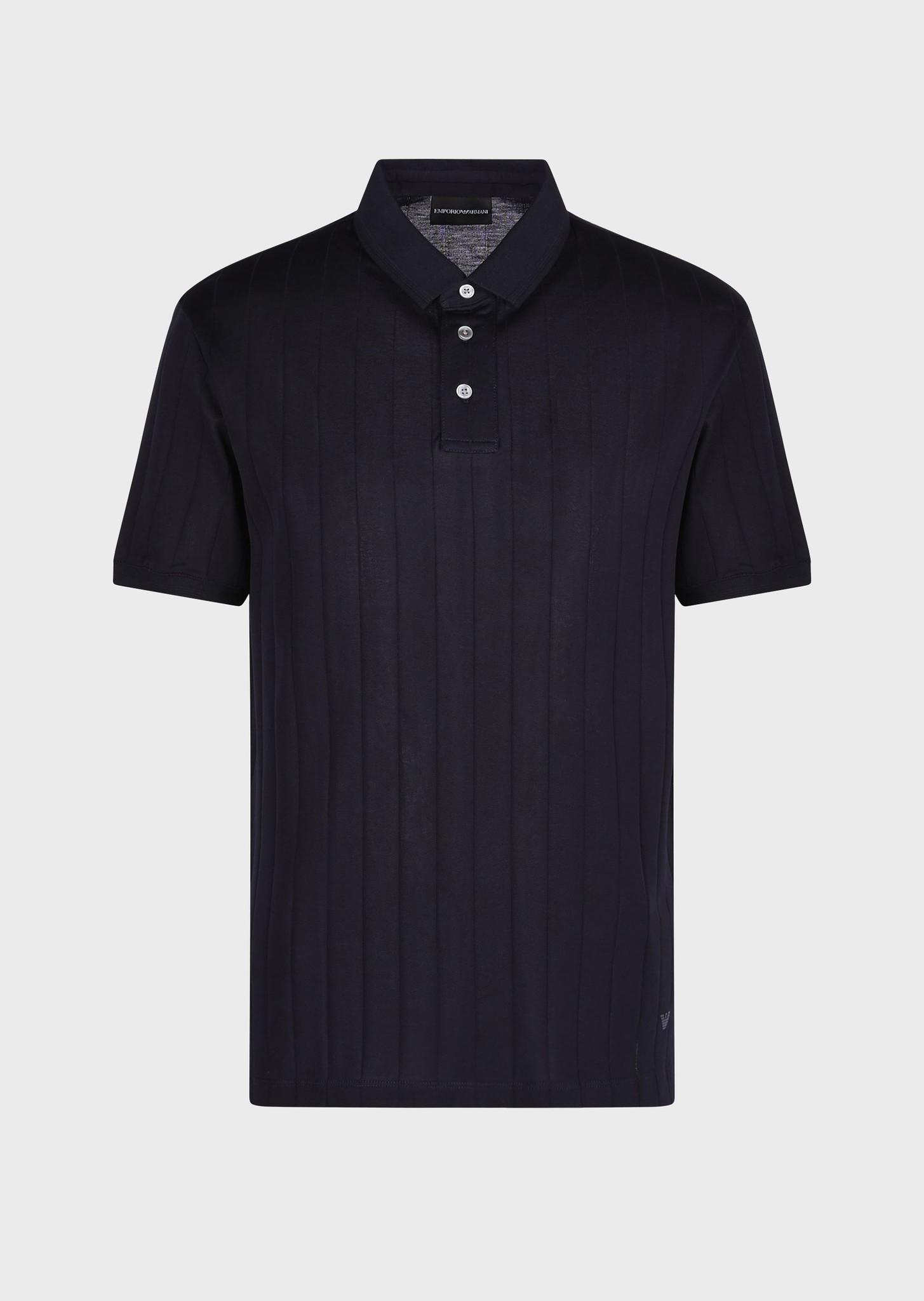 Jacquard Jersey Polo-1