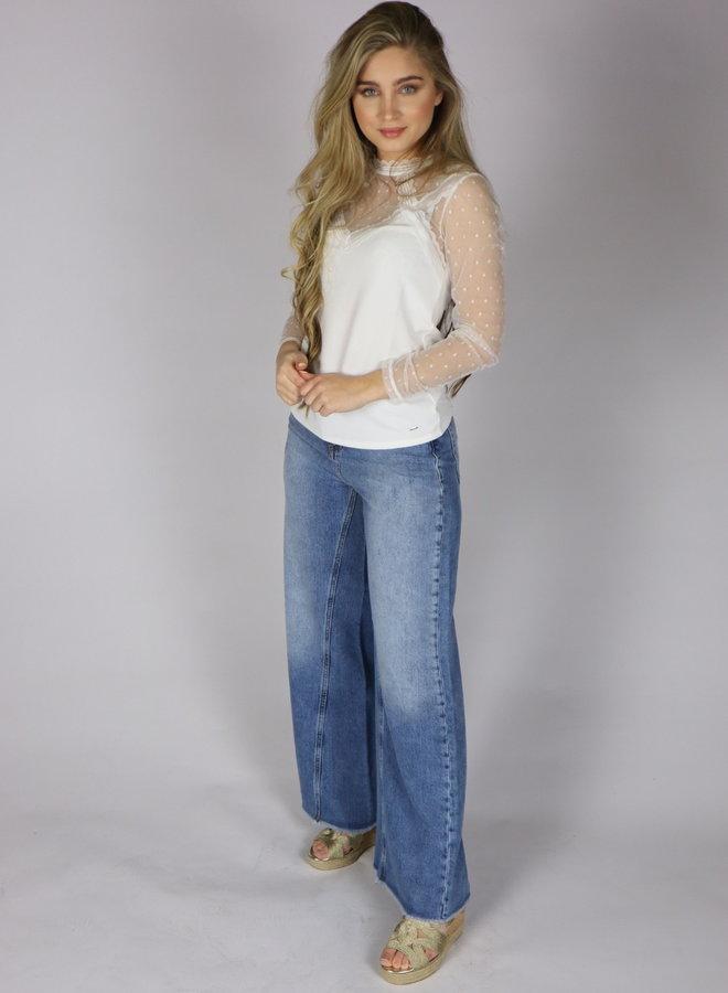 Jeans-wijde pijp Silvian Heach