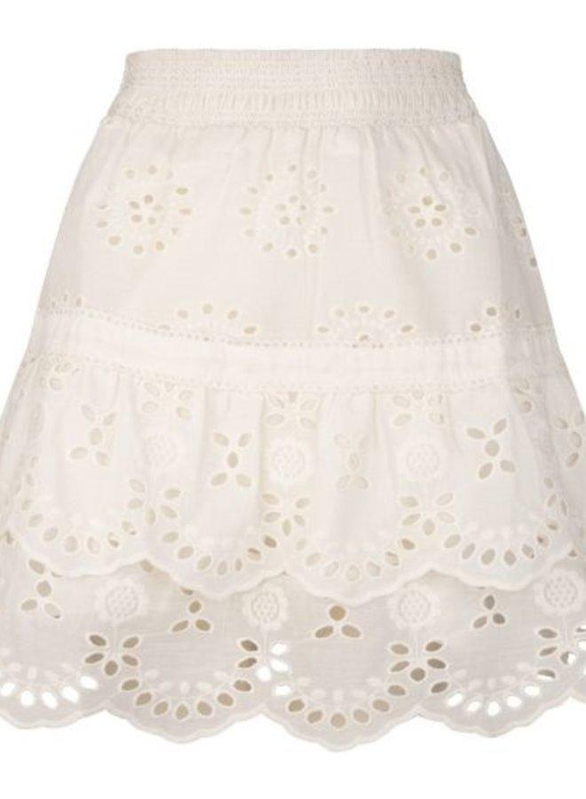 Skirt broderie - Esqualo