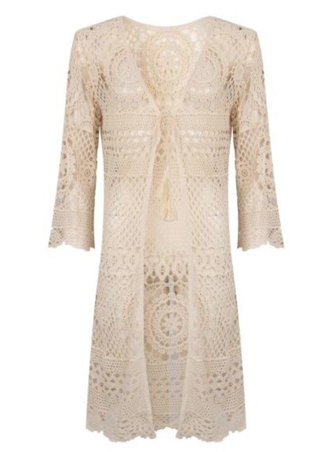 Vest gehaakt crocher - Esqualo