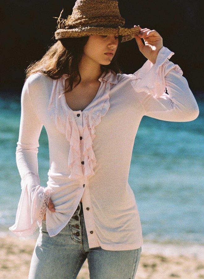 Blouse licht roze - Isla Ibiza