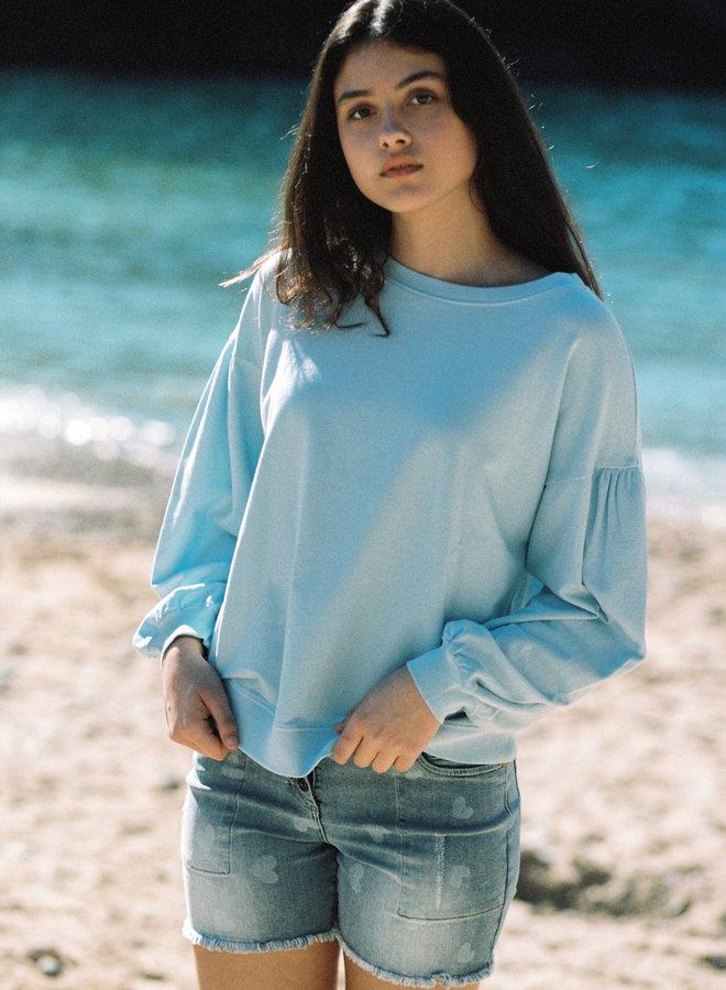 Short jeans  hartjes- Isla Ibiza