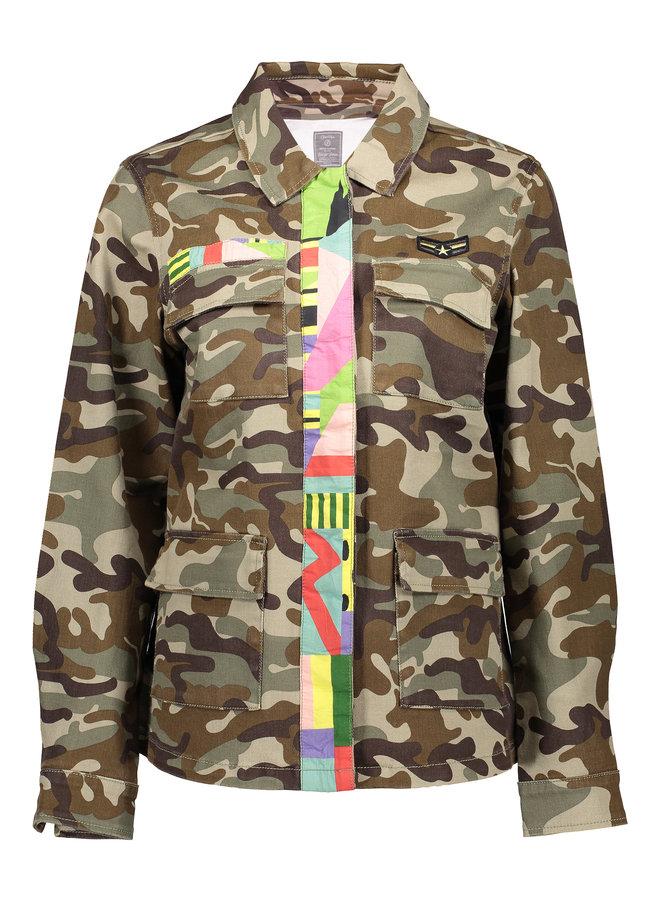 Jacket tape army combi - Geisha
