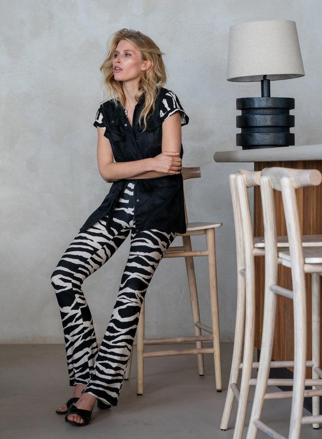 Zebra print  jumpsuit - Geisha