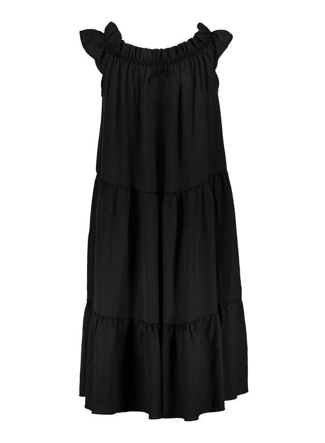 Dress tapered & elastic neck - Geisha